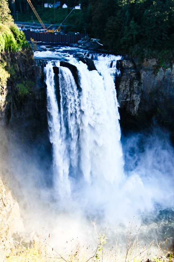 Drove to the burbs to Snoqualmie Falls - a 268 ft waterfall on the Snoqualmie River