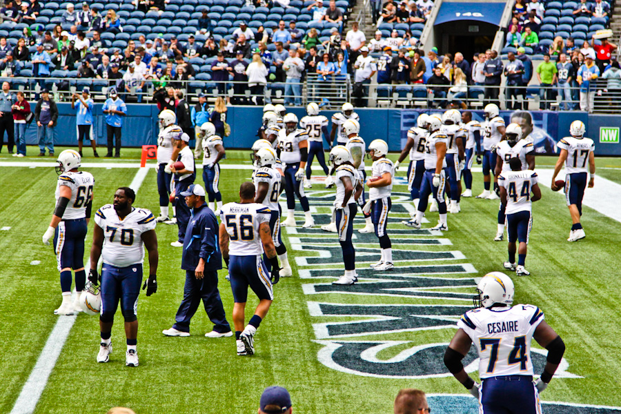 Chargers Vs Seahawks Ollie Neglerio Life Amp All Of The