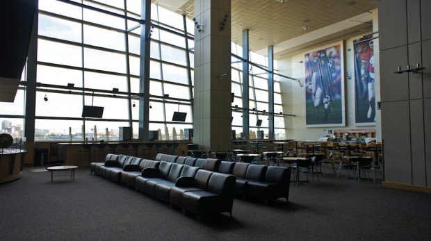 Their club seat hang out area. Umm, hello San Diego stadium committee.