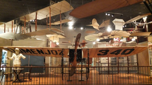 The first monoplane that flew over the English Channel