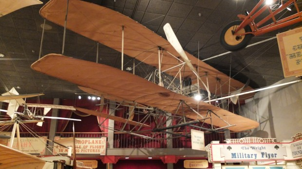 The 1st Wright Bros. military airplane